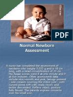 Copy of Normal NewbornAssessment[1]