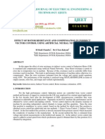 Effect of Rotor Resistance and Compensation in Indirect Vector Control Using