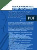 Charte Municipale Fn