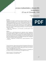 Aglomeraciones Industriales Desarrollo Economico
