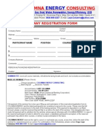 Columna Energy Training Registration Form
