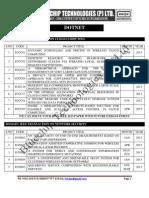 2013 - 2014 Dot Net Project Titles