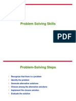 Problem Solving for Course
