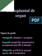 Transplant Curs