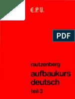AufBauKurs Deutsch 3