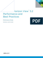 Vmware Horizon View Best Practices Performance Study