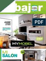 Folleto Rebajas Muebles y Decoración MYMOBEL