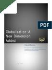 The Debate on Globalization