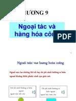 Chuong 9_Ngoai Tac Va Hang Hoa Cong