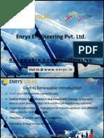 Enrys Solar Presentation