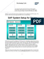 SAP Purchase Order Process