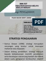 Strategi Pengajaran