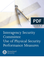 Physical Security Performance Measures