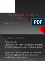 Haroun and the Sea of Stories Chapter 11-12