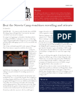 Beat the Streets - Baltimore Quarterly Newsletter Volume 3, Issue 1