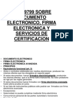 Ley 19799 Sobre Documento Electronico, Firma Electronica