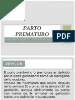 Parto Prematuro