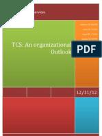 TCS - An organizational outlook