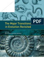 Evolution_The Major Transitions in Evolution Revisited_2011
