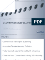 e Learning Blended Learning Presentation Instructor Seminar