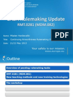 MDM.082 Presentation EAMTC Instructor Seminar