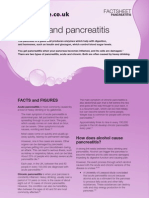 Alcohol and Pancreatitis