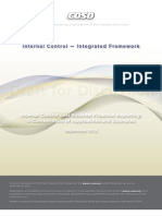Internal Control — Integrated Framework (Draft Sep 2012)