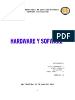 Equipo No. 1Hardware y Software