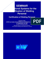 Welding Qualification seminar