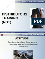new distributors training ndt