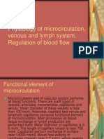 Physiology of Microcirculation, Venous and Lymph System