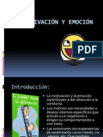 Motivacion y Emocion
