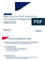 Reducing the Gw Pimp Act on Commercial Refrigeration