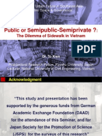 To Kien_Public or Semipublic Semiprivate - The Dilemma of Sidewalk in Vietnam