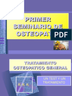 Tratamiento Osteopatico General