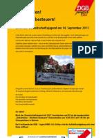 Aufruf DGB-Jugend BO Umfairteilen 14-09-2013
