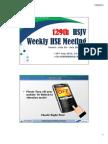 129th HSJV Weekly Meeting