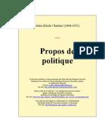 91534926 Alain Propos Politique