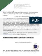 3 Flood Modelling and Vulnerability Assessment
