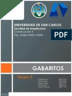 Gabaritos Grupo 5