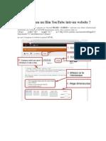 Cum Integram Un Film YouTube Intr-un Sit