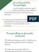 Modelo Conductual (Expo)
