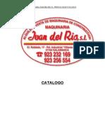Maquinaria Juan Del Rio Catalogo