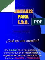 análisis-sintactico-oraciones simples y compuestas