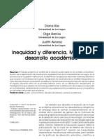 Kiss, Barrios e Alvarez. Inequidad y difrencia. Mujeres y desarrollo academico.pdf
