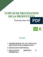 Curvas de Declinacion de La Produccion Nicolas Ultimo
