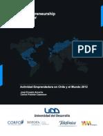 Actividad Emprendedora en Chile y El Mundo 2012