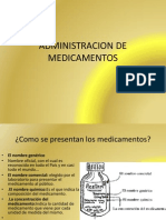 Administracion de Medicamentos 2012