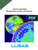 LUSAS Analiza Statica Si Managementul Incarcarilor