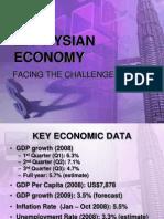 Malaysia Economic Challenges 2008